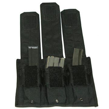 Blackhawk Mag Pouch, Hook & Loop Attachable, Black