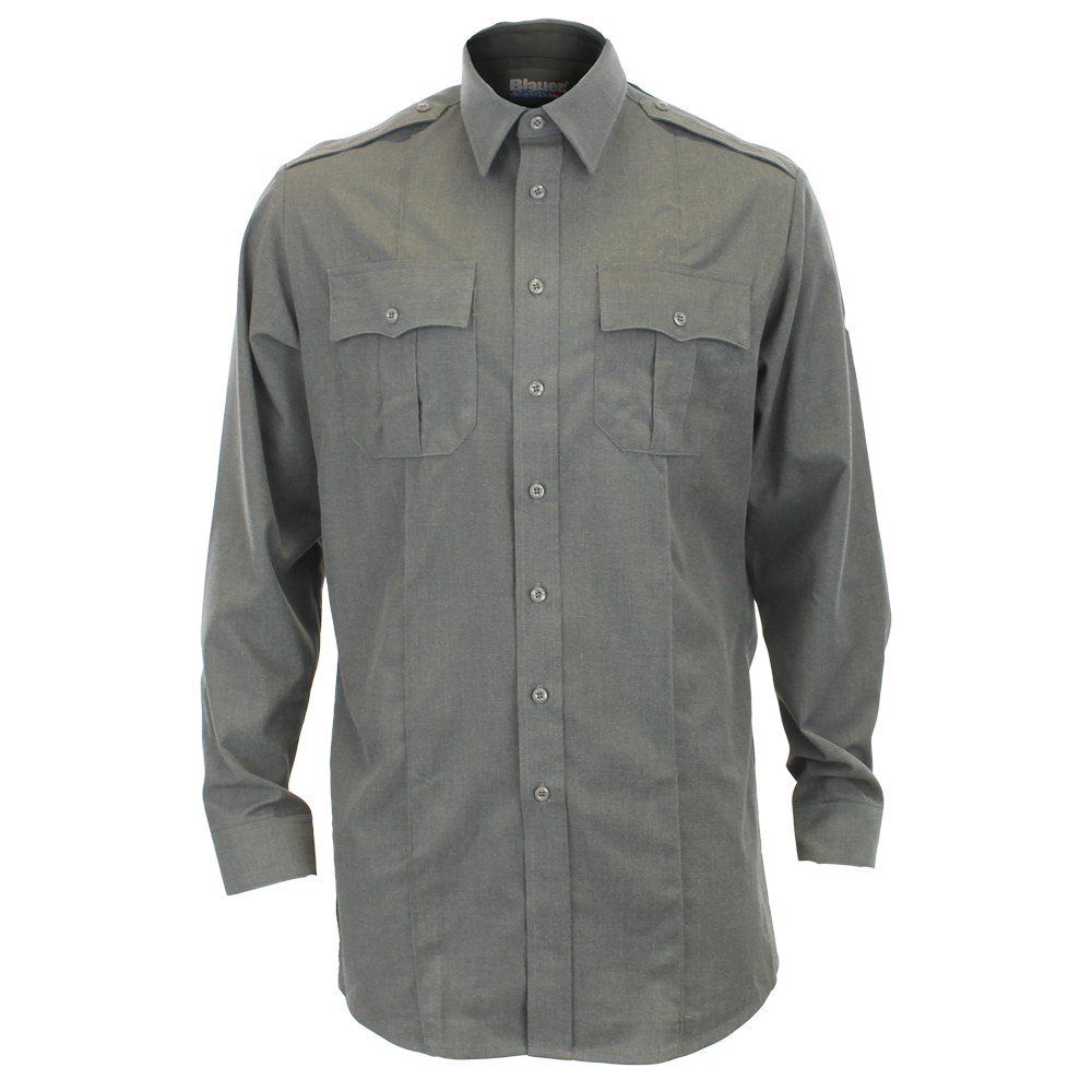 Blauer Class Act Long Sleeve Rayon Blend Shirt
