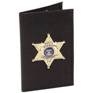 Blackinton Badge Case w/2 ID Windows