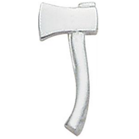Smith & Warren Collar Pins, 1 Axe Facing Left, Di-Cut