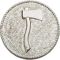 Smith & Warren One Axe (Facing Right) Medallion