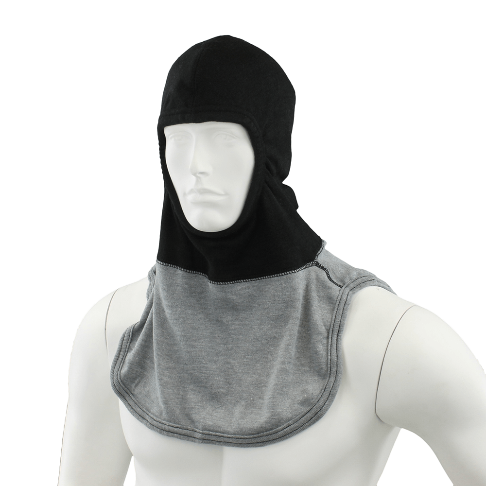 Majestic PAC II 3-Ply Exclusive Black and Gray Instructor Hood