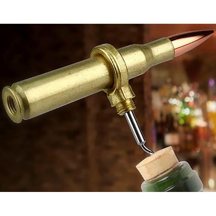 Caliber Gourmet 50 Caliber Corkscrew, Gold