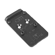 C&H Precision Weapons V4 Series MIL/LEO Adapter Plate for SIG Romeo1Pro for Glock MOS