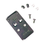 C&H Precision Weapons V4 Series MIL/LEO Adapter Plate for Vortex Venom for Glock MOS
