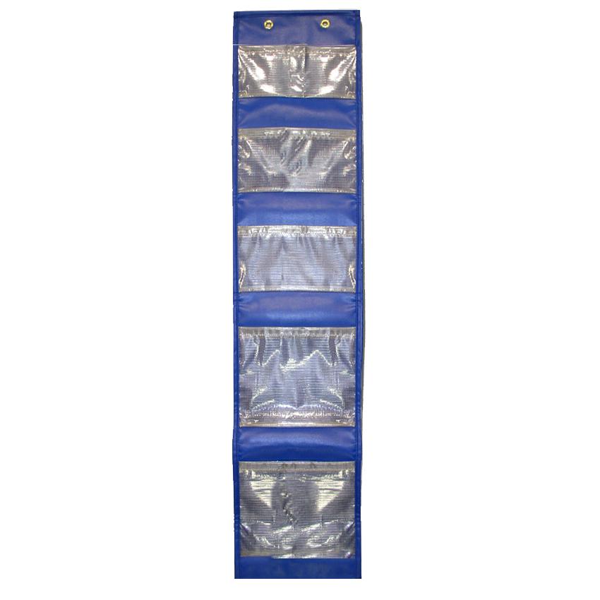 Avon Blue Locker Caddy With See-through Fabric Pockets