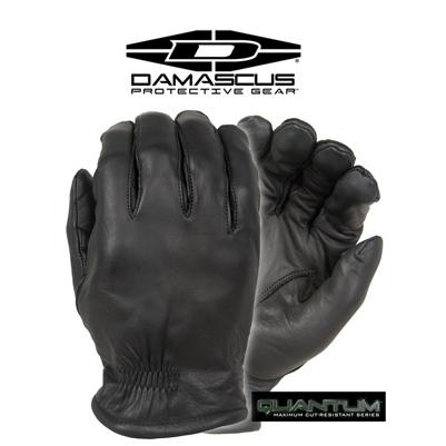 Damascus Quantum, Level 5 Cut Resistant Leather Duty Gloves, Black
