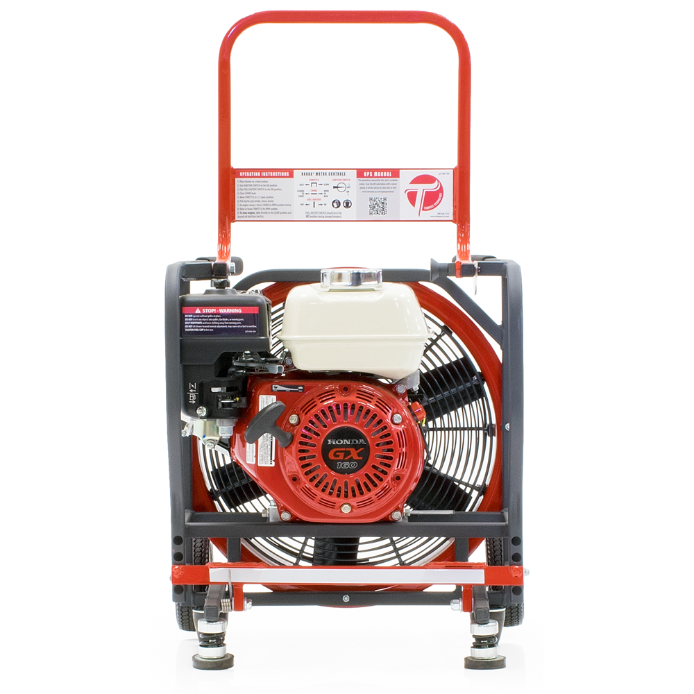 Tempest Technology Direct-Drive Gas Power Blower