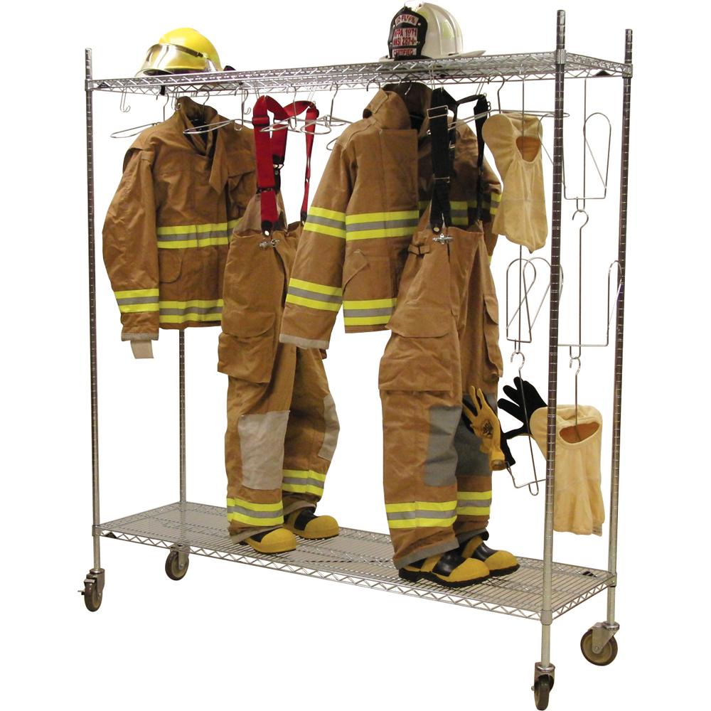 Groves Inc. Mobile Air Laundry Rack