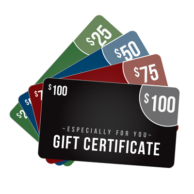 E-GIFT CERTIFICATE:  Redeemable at TheFireStore.com