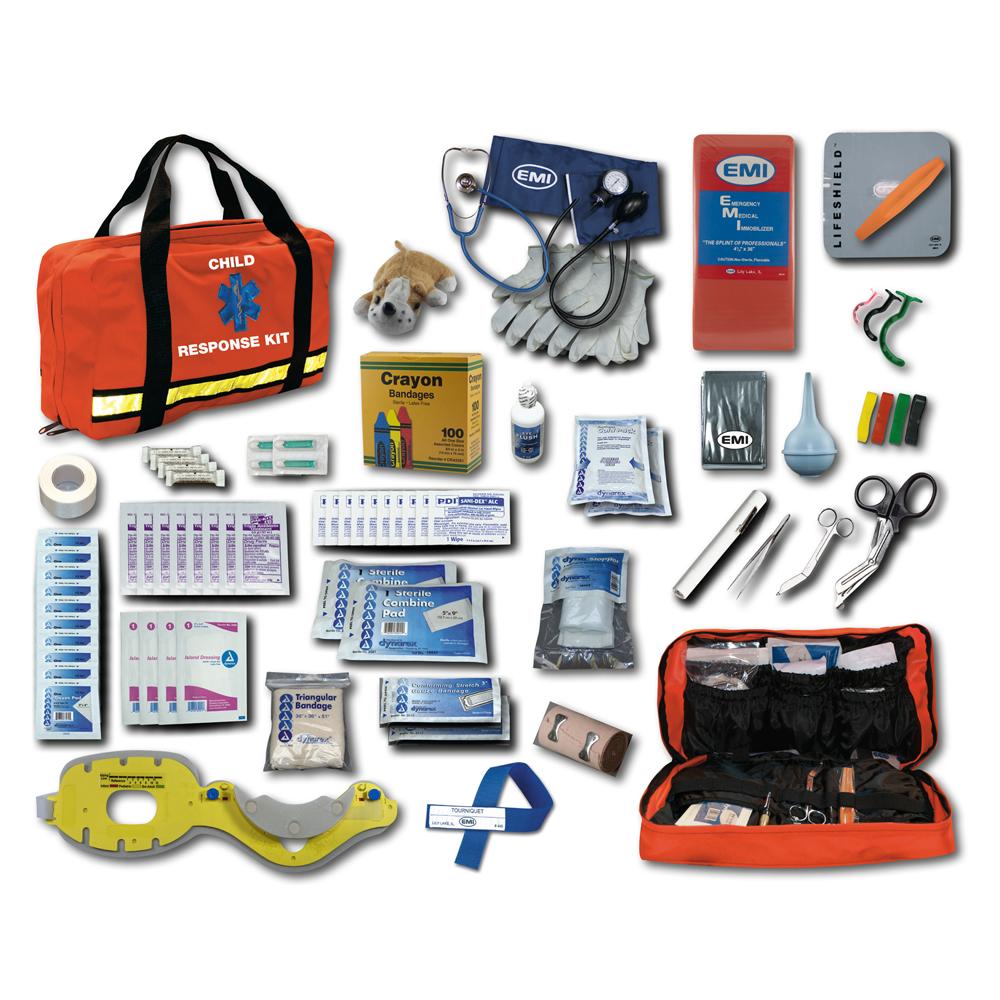 EMI Child Response Kit, Includes Plush Animal