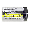 Energizer D-Cell Industrial Alkaline Batteries, Box of 12