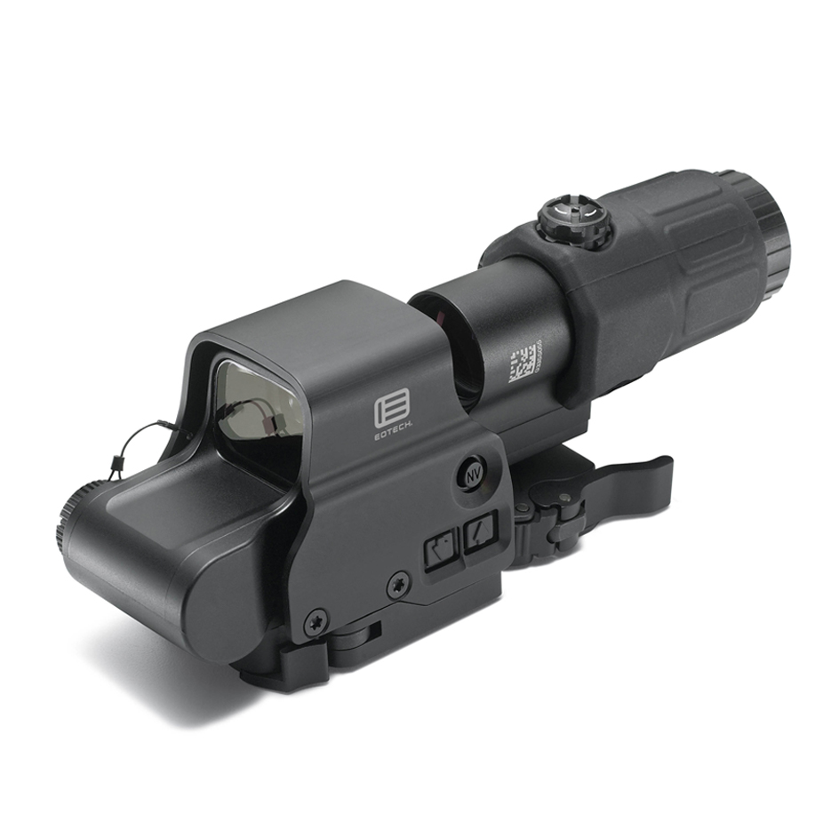 EOTech Holographic Hybrid Sight I, EXPS3-4 with G33.STS Magnifier