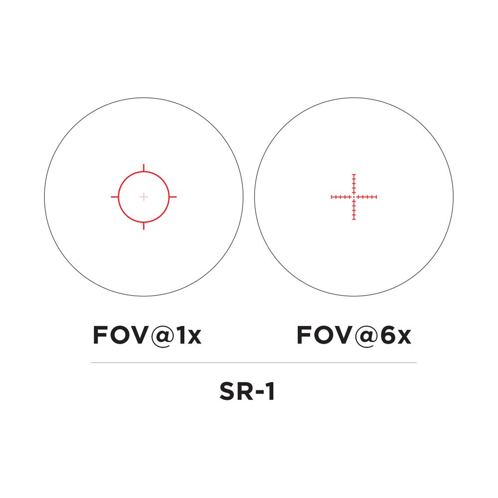 EOTech Vudu 1-6x24 FFP Riflescope