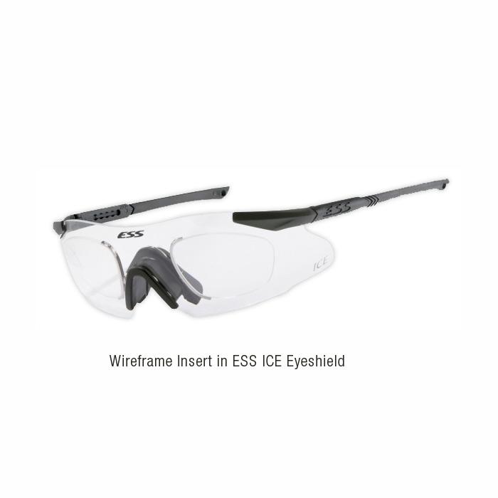 ESS Vice Wireframe Rx Lens Insert for ICE & Advancer V-12