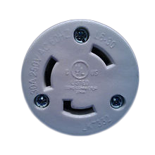 RamFan NEMA Twistlock Plug for EG8000 Smoke Ejector