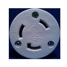 RamFan NEMA Twistlock Plug for EG8000 Smoke Ejector, 250 Max Volts