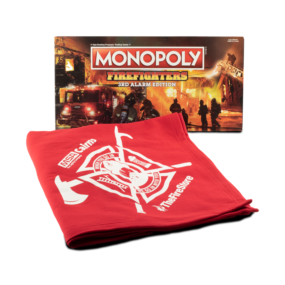 Exclusive Firefighter Monopoly TheFireStore / MSA Blanket