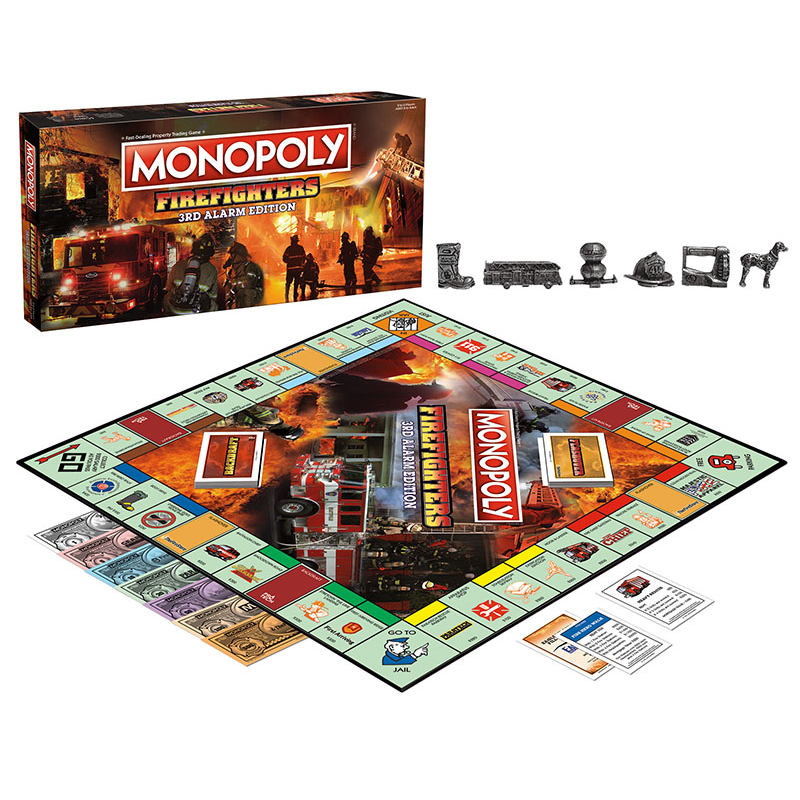 MONOPOLY: Firefighters Monopoly 3rd Edition