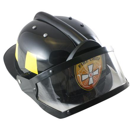 AeroMax Fire Chief Plastic Firefighter Costume Helmet
