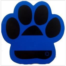 FrontLine Designs, LLC Blue Line Paw Reflective Decal