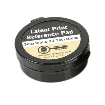 Forensics Source Sebaceous Oil Latent Print Reference Pad