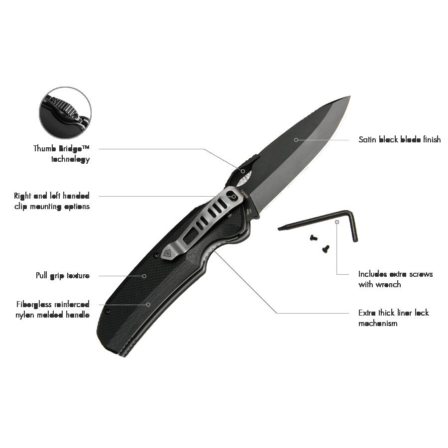First Tactical Diamondback Knife Spear