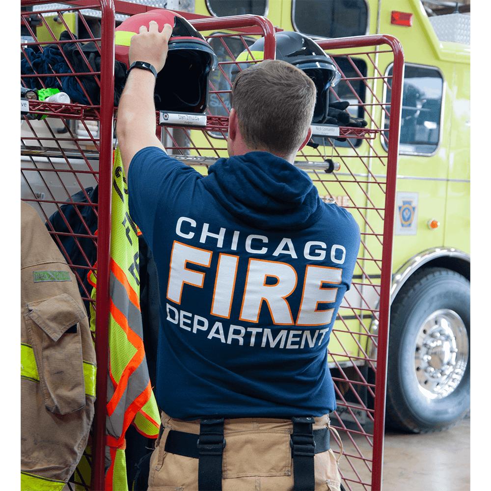 Fisher Sportswear Chicago Fire Dept. Short-Sleeve T-Shirt