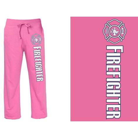 Fisher Sportswear Women's Firefighter Pink Duty Sweatpants