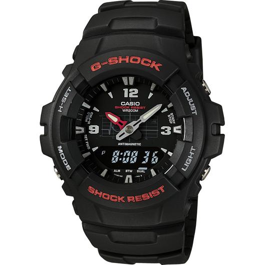 Casio G-Shock Analog/Digital Watch, Black