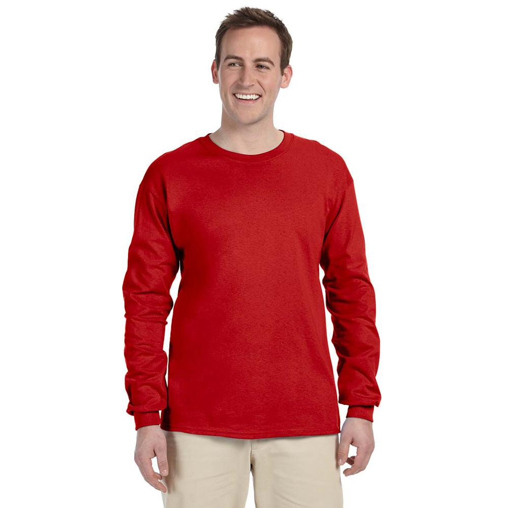 Gildan Heavyweight Cotton Long-Sleeve T-Shirt