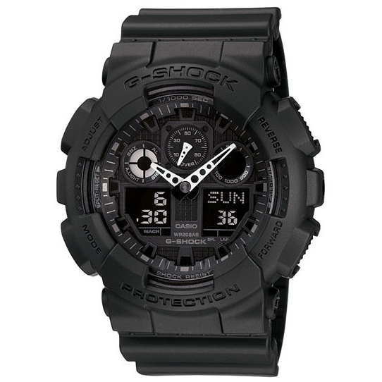 Casio G-Shock Classic XL-G Watch, Analog/Digital, Black