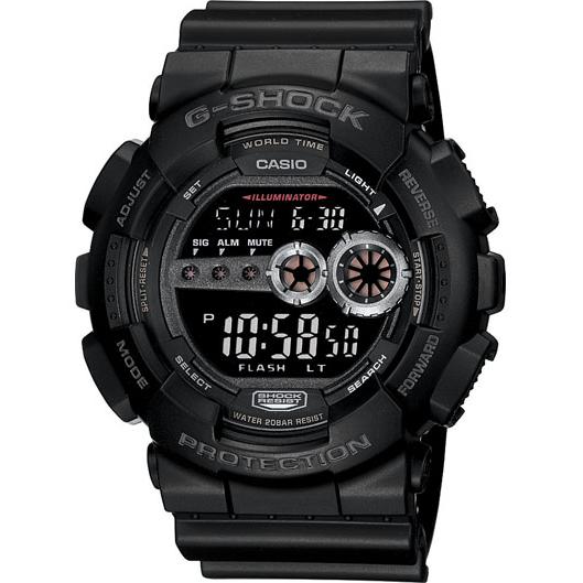 Casio XL Digital G-Shock Watch with Flash Alert