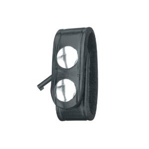 Gould & Goodrich Duty Leather Belt Keeper with Hidden Cuff Key
