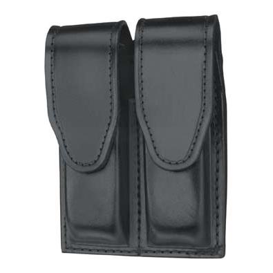 Gould & Goodrich Duty Leather Double Magazine Case, Hidden Snap