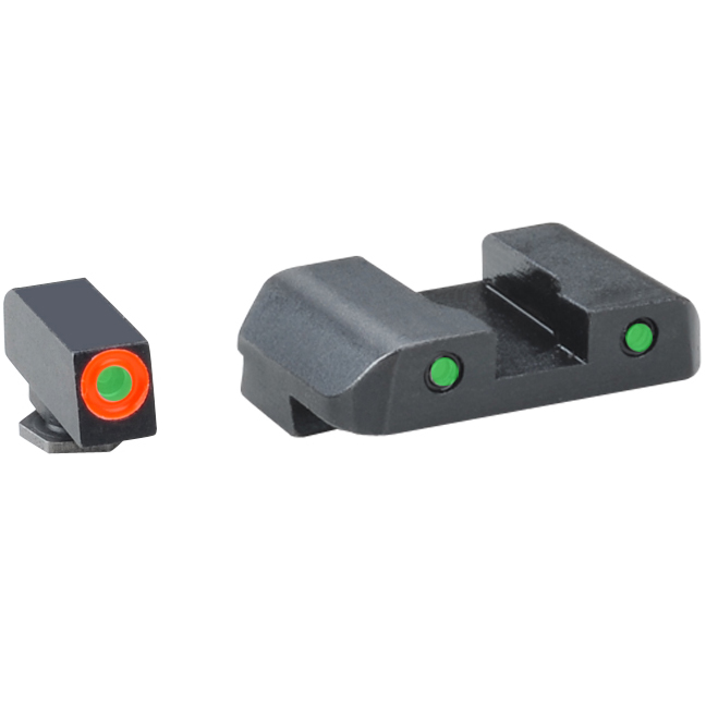 Ameriglo Spartan Operator Sights for Glock 42,43