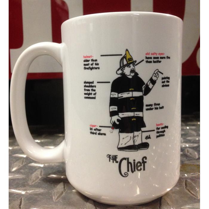 Gettin Salty Chief Ceramic Coffee Mug
