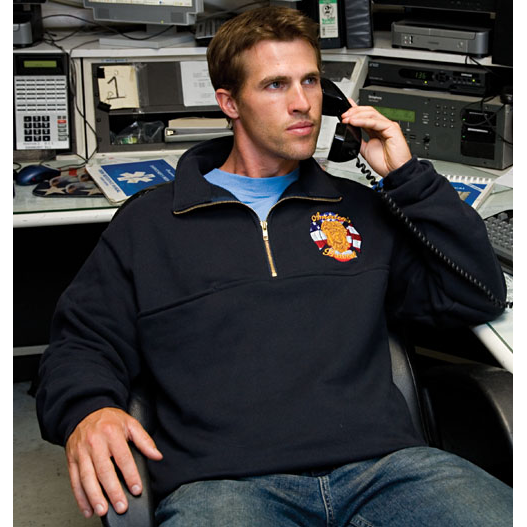 Game Workwear 870-T The Firefighter's Zip JobShirt
