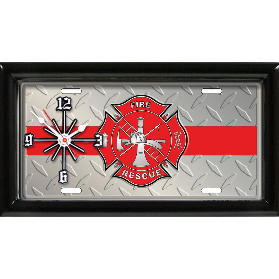 Maltese Cross Fire & Rescue Clock