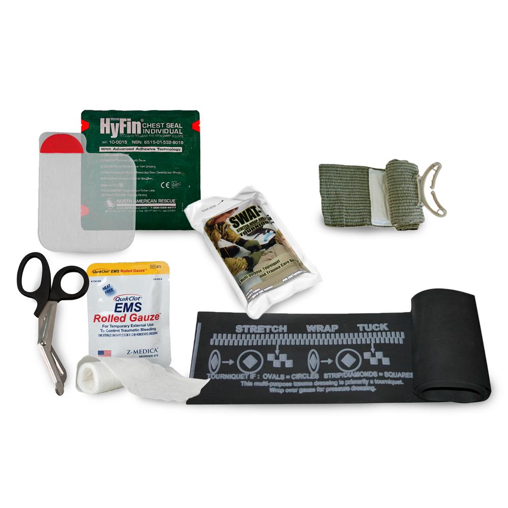 GideonTactical Gunshot Trauma Aid Kit (GTAK) - Basic