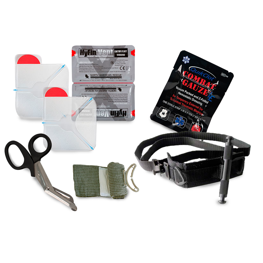 GideonTactical Gunshot Trauma Aid Kit (GTAK) -Intermediate