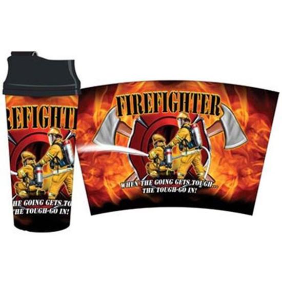 Firefighter Thermal Travel Mug