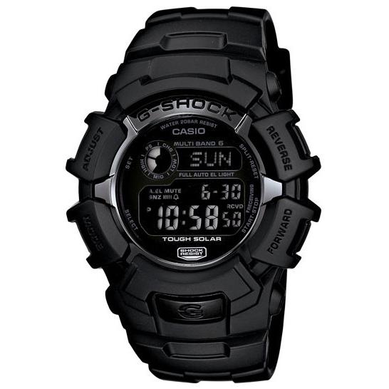 Casio G-Shock Digital Solar Atomic Watch, Black