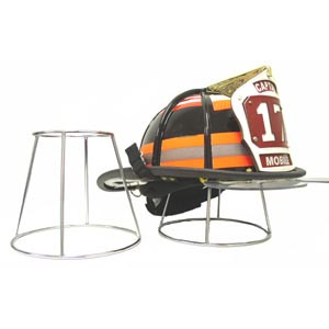 Groves Inc. Helmet Holder, Chrome Plated