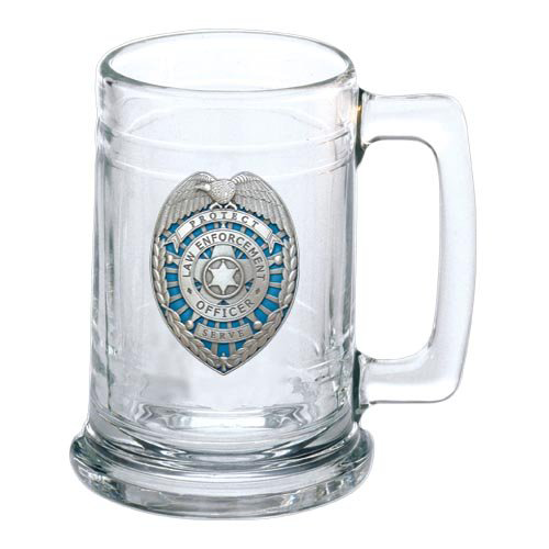 Heritage Pewter Law Enforcement Stein