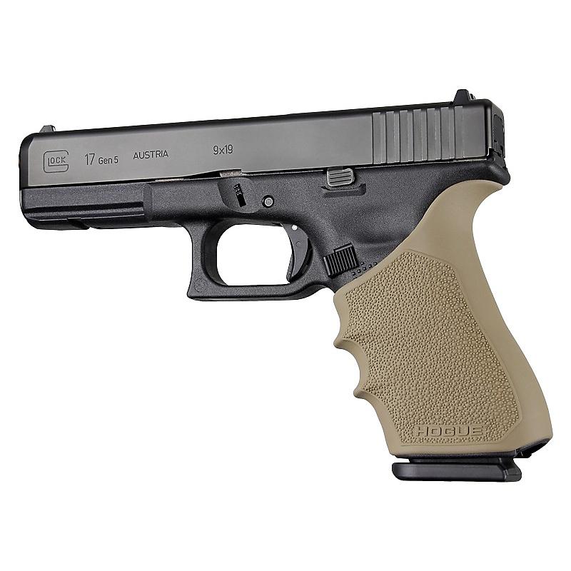 Hogue HandAll Beavertail Grip Sleeve for Glock 17