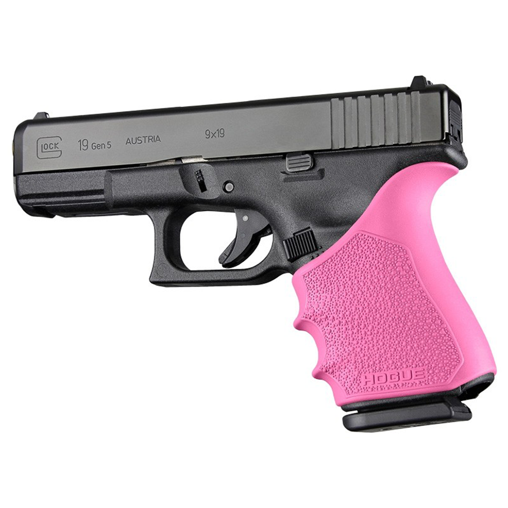 Hogue HandAll Beavertail Grip Sleeve for Glock 19