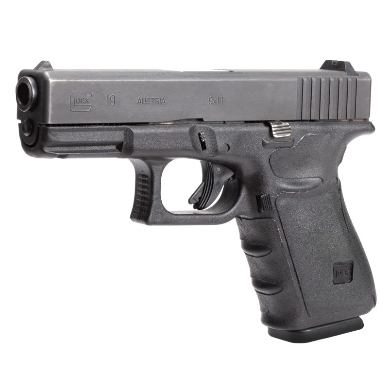 Hogue Wrapter Rubber Adhesive Grip for Gen 4 Glock 17, 17MOS, 22, 31, 34, 34MOS, 35, 35MOS