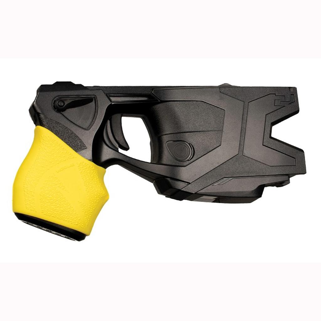Hogue HandALL Taser Hybrid Grip Sleeve, Yellow