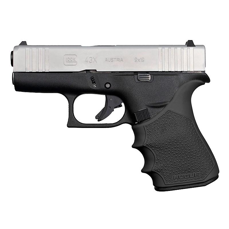 Hogue HandAll Beavertail Grip Sleeve for Glock 43X, 48